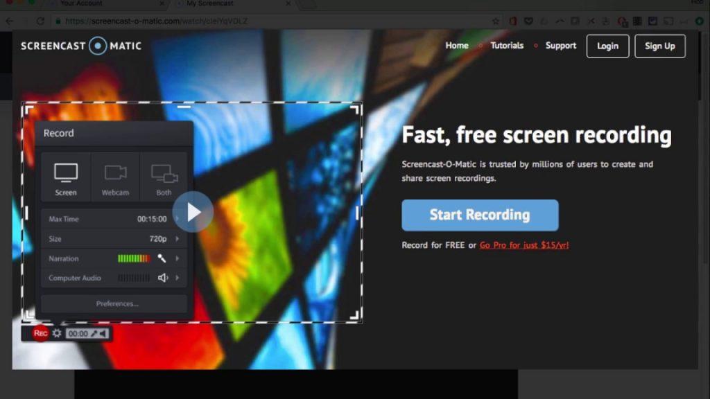 logiciel capture d'écran vidéo